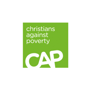 Christians Against Poverty Logo - Supported by Freedom Church