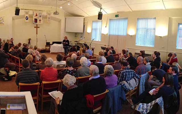 Sunday church service in Sidley - Freedom Church Bexhill
